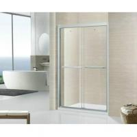 Modern Tempered Glass Shower Room with Acrylic Shower Tray Manufactures