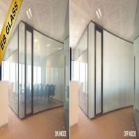 PDLC Smart switchable glass/eb glass brand Manufactures