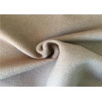 570g/M Classical Woven Wool Fabric For Office Staff Suit Uniform Various Design Manufactures