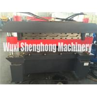 China Electric R Panel Glazed Tile Roll Forming Machine For Roof , Wall on sale