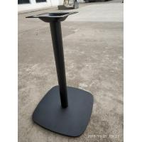 Buy cheap Cast Iron Table base Dining Table Leg Modern Restaurant table frame Black from wholesalers