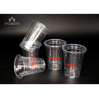 Recyclable Disposable Plastic Dessert Cups Crack Resistant Food Safe Grade Manufactures