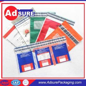 9x12 inch Plastic Custom Security Bags/Tamper Evident Bags/Bank Deposit Bags Manufactures