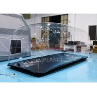 China Transparent Inflatable Car Capsule Car Storage Bubble Inflatable Car Cover on sale