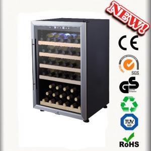 54 Bottles Wine Chiller No Vibration Wine Cabinets Manufactures