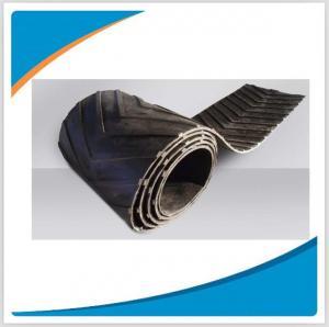 Chevron rubber conveyor belt Manufactures