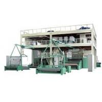 Output Automatic Polypropylene Nonwoven Fabric SpunBond Machine short production flow Manufactures