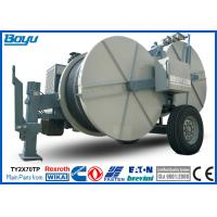 China 2 x 70kN Double Bundle Overhead Line Stringing Equipment Cummins Engine Hydraulic Puller Tensioner on sale