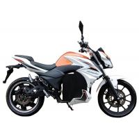 China Electric Scooter Moped For Adults , Electric Ride On Moped Front And Rear Disc Brake on sale