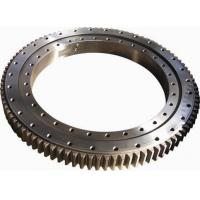 External Gear / Internal Gear Ball Crane Slew Ring For Wind Power Generator Manufactures