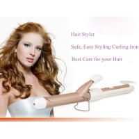 China Tourmaline Ceramic hair curler, hair curling iron, hair styler on sale