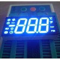Customized 7 Segment LED Display Three Digit 47 X 22 X 9 Mm Outer Dimensions Manufactures