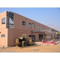 China Pre Engineered Steel Structure Buildings Construction With New Insulation Panel on sale