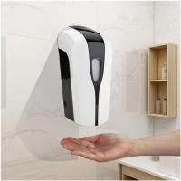 China household automatic soap dispenser / battery plastic refillable hanging hands free dispenser soap on sale