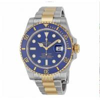Rolex Submariner Blue Index Dial Oyster Bracelet Mens Watch 116613BLSO Manufactures