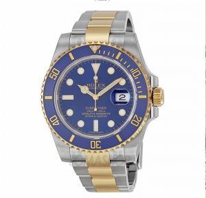 Rolex Submariner Blue Index Dial Oyster Bracelet Mens Watch 116613BLSO Manufactures