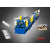 China Pre-punching Interchangeable Light Steel Structure House C Purlin Machine on sale