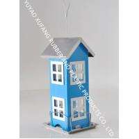 Customized Color Hanging Bird Feeder Powder Coated Finishing 12 X 12 X 26 Cm Size Manufactures