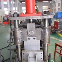 Customized C Shape U Stud And Track Roll Forming Machine Galvanized steel frame making machine Manufactures