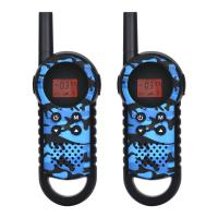 Buy cheap Shenzhen customized camouflage 3-5KM 22 channels indoor outdoor camping walkie from wholesalers
