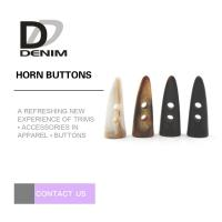 Fashion Horn Plastic Buttons for Sweater & Coat Manufactures