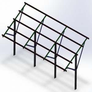 Buy cheap Few Ground Penetration Steel Single H-Beam Pole 10 Years Warranty Sturdy from wholesalers