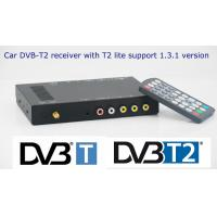 China DVB-T2E car DVB-T2 digital TV receiver with one tuner one antenna on sale