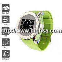 Newest S60 - Dual SIM 1.2 Inch Watch Cell Phone (FM MP3 MP4 Player) Manufactures