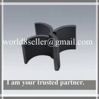 China Strong Permanent Magnet Ferrite Magnet Arc Magnets on sale