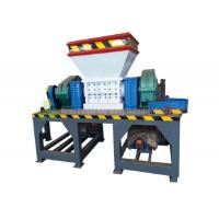 China Industrial Using Small Tire Recycling Plant / Durable Twin Shaft Tire Shredder on sale
