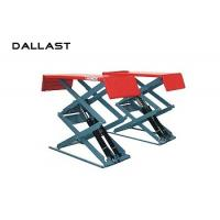 China Hydraulic Cylinder Scissor Hoist / Scissor Lift Mechanism Design / Car Lift on sale
