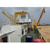Popullar Model 22 Inch 4500m³ / H Cutter Suction Dredger With Diesel Power for sale