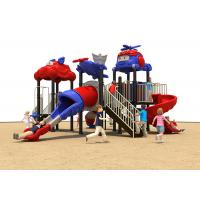 China Customized Kids Outdoor Plastic Slide , CE Childrens Outdoor Slide Toys on sale