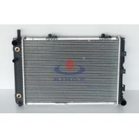 Aluminium Mechanical Type automobile radiators For Benz W124 / 200D / 250TD 1984 1993 AT Manufactures