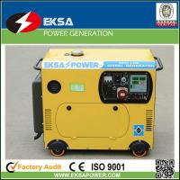 5kw home silent diesel generator sets colourful designed with AMF & ATS function Manufactures