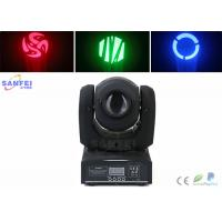 China 10W LED Beam Moving Head Light , Led Spot Light with 7 Gobo Stage Lighting for DJ  Wedding Party on sale