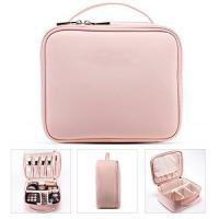 Professional Small Makeup Vanity Bag , Portable Cosmetic Organizer Case Manufactures