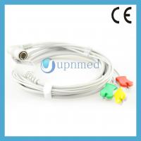 China Colin one piece ECG cable with leadwires on sale