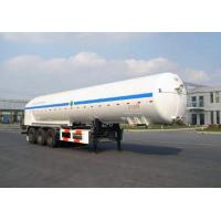 Quality 20000L-3 Axles-Cryogenic Liquid Lorry Tanker for Liquid Argon for sale