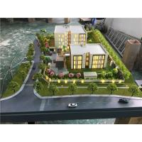 3d Residence Real Estate Model , Miniature Building Model With Trees Material Manufactures