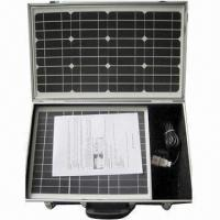Portable Solar Kits with High-efficiency and Excellent Performance, Available in Various Voltages Manufactures
