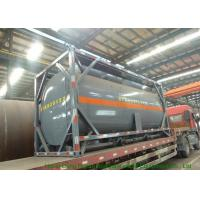 Steel 20 Foot Tank Container For Sodium HypochloriteAnd Hydrochloric Acid 20000L Manufactures