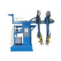 Cantilever Type Back CO2 Welding Machine , Automatic Steel Box Assembly Machine Manufactures