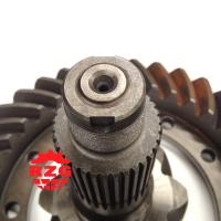 Professional Crown Wheel And Pinion Gear adopted on HINO truck Front Axle ratio 8*37 Manufactures