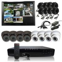 Infrared IR 600 TVL H.264 Surveillance Camera System Bullet Indoor Manufactures