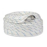 "1/2""x250' Twisted 3 Strand Nylon Anchor Rope with Thimble Manufactures"