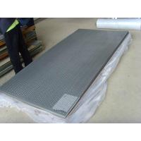 China Non Slip Decorative Punched Hole Metal Sheet , Perforated Mesh Panels on sale