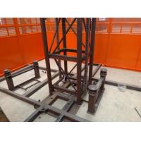 Custom Size Construction Hoist Elevator With Multiple Choices Of Doors Manufactures