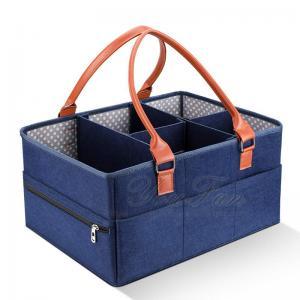 China Portable Newborn Shower Gift Nappy Bag Nappy Storage Basket on sale