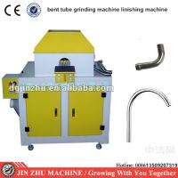 Curved Pipe bent tube oval tube linisher sanding machine Manufactures